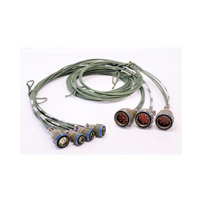 Harsh environment cable assemblies