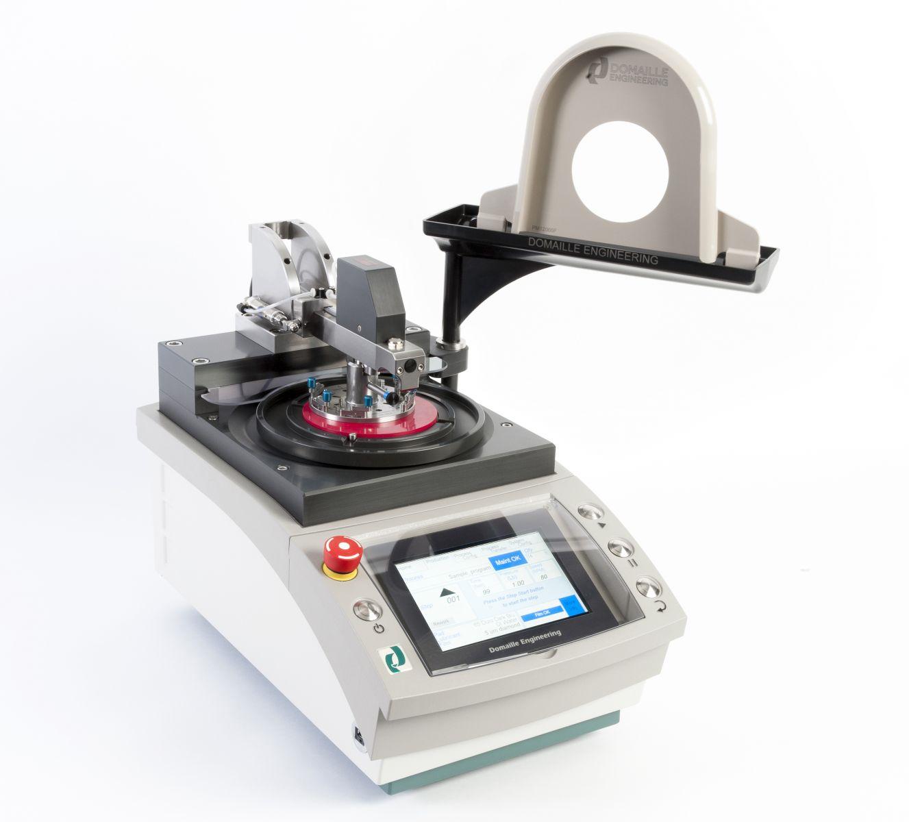 Techoptics Polishing Machine Apm Hdc 5300